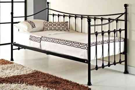 GRS Gadgets - Metal French Day Bed - Save 70%
