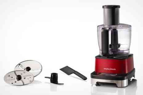 Deluxe Home Brands - Morphy Richards Induction Food Processor - Save 55%