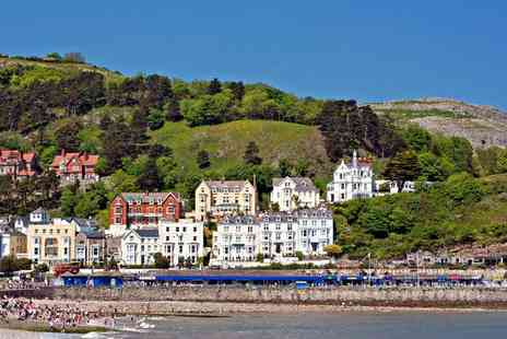 Ambassador Hotel - Two Night Llandudno break with Welsh cream tea and Bucks Fizz - Save 29%