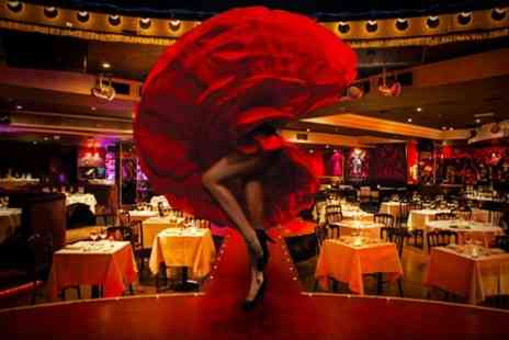 Proud Cabaret City - Three Course Dinner With Burlesque Show Programme and Bubbly - Save 63%