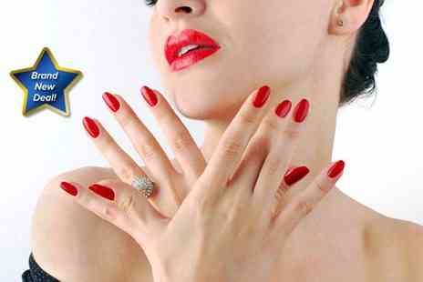 Cegees Salon - CND Vinylux manicure and pedicure - Save 67%