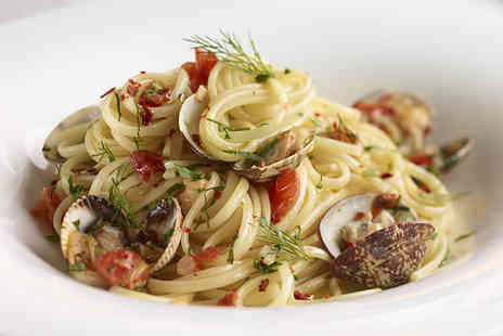 Independent Bar & Kitchen - Pasta dinner for 2 & a bottle of wine - Save 54%