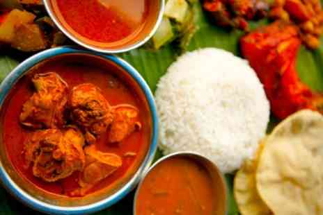 Coconut Lagoon - Indian Lunch With Beer For Two - Save 56%