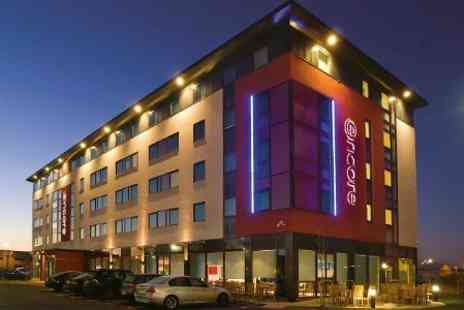 Ramada Encore Derby - In Derby One Night Stay For Up To Four With Breakfast and Theme Park Tickets - Save 45%