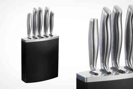 Dynergy - Russell Hobbs Five Piece Stainless Steel Knife Set - Save 30%
