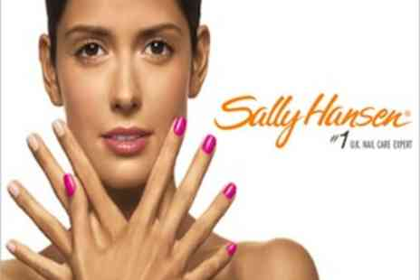 Just She - Four Sally Hansen Nail Treatments - Save 78%