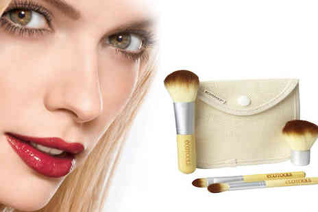 Eggsnog - Bamboo Travel Brush pack and style yourself with confidence. - Save 75%