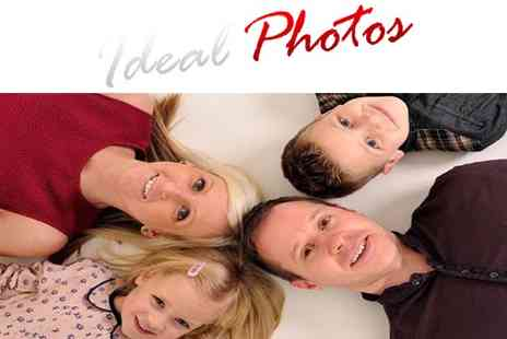 Ideal Photos - Family Studio Photography Shoot - Save 72%