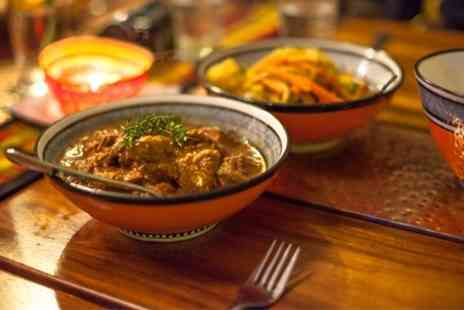 Sizzling Hut - Two Course Indian Meal With Rice - Save 59%