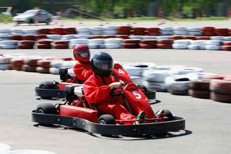 West Country Karting - 80 Laps of Go Karting for One Person - Save 68%