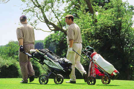 Aldwark Manor Golf & Spa Hotel - 18 Holes of Golf with Buggy Hire for Two People - Save 60%