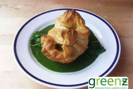 Greenz - Starter and Main Course Each for Two - Save 52%