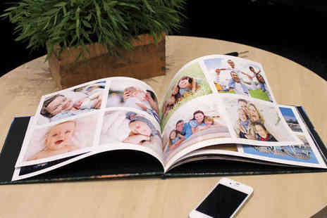 u.PhotoBooks - Medium Square Standard Hardcover Photobook - Save 64%