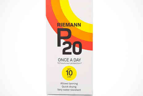 Chemist Direct - One Bottles of Reimann SPF10 P20 Suntan Lotion - Save 35%
