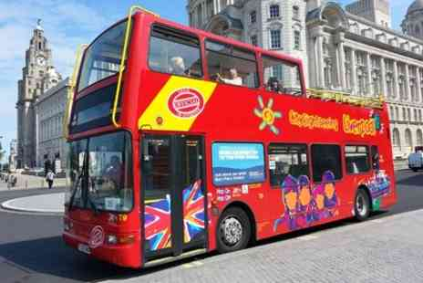 City Sightseeing Liverpool - Bus Tour For Two - Save 55%