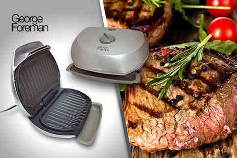 Up Global Sourcing - George Foreman compact 3 portion grill - Save 41%