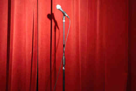 The Top Secret Comedy Club - Two Comedy Night Tickets and Two Measures of Apple Sourz - Save 50%