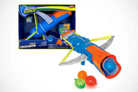 Supa Value - One Wham O Aqua Force Water Balloon Crossbow Launcher - Save 72%