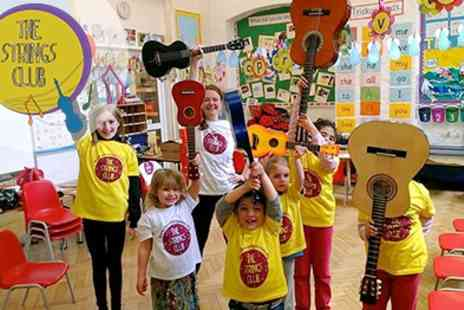 The Strings Club - Fantastic Guitar Make and play Ukulele Workshops For Kids - Save 40%