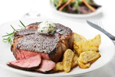 Luigi's - 10oz Steak Meal For Two - Save 53%