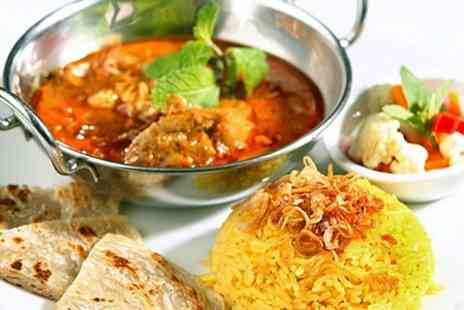 Indian Cottage - Two Course Indian Meal For Two - Save 52%