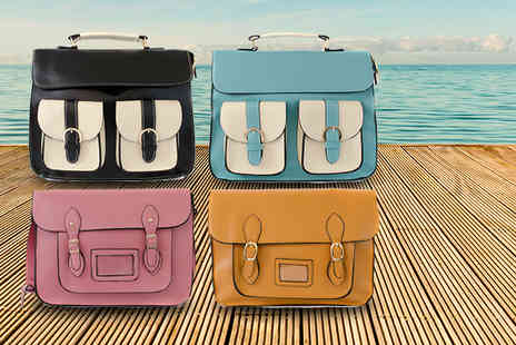 iKRUSH - Stylish satchel in a range of summer colours - Save 62%