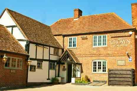 The Crown Inn - One Night Stay For Two With Dinner - Save 48%