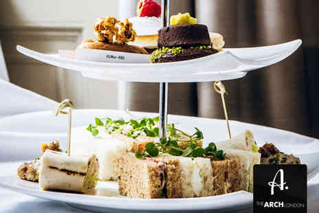 The Arch London - Champagne Afternoon Tea for Two - Save 50%