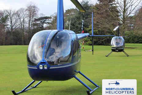 Northumbria Helicopters - Six Mile Helicopter Buzz Flight for One People - Save 34%