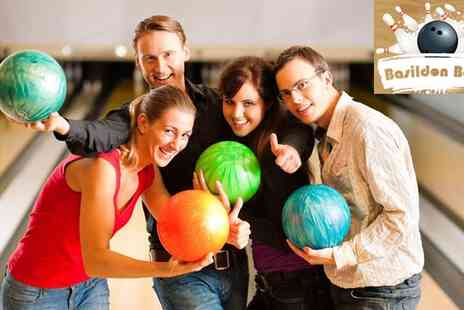 Basildon Bowl - Game of Bowling for up to Three in Basildon - Save 58%