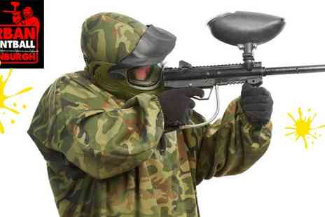 Urban Paintball Edinburgh - Indoor Paintballing for 4 - Save 95%