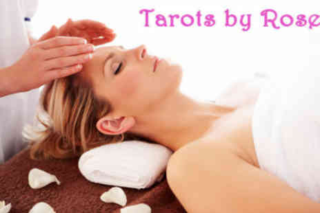 Tarotsby Rose Carrickfergus - One Hour Combined Crystal and Reiki Healing Session - Save 50%