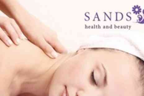 Sands Health & Beauty - Pamper Package With Choice of Two Treatments - Save 63%