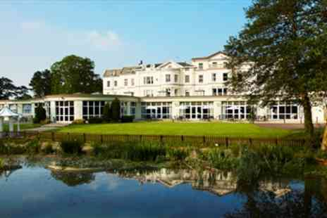 Cheltenham Park Hotel - Cheltenham 4 Star Country House with Dinner - Save 54%