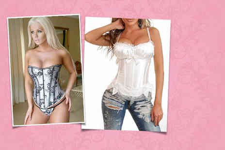 Love Lingerie - Corset in a choice of designs get sexy new underwear - Save 64%