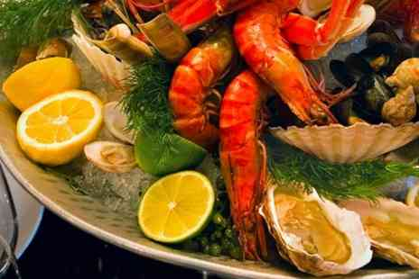 Hilton London Islington - Seafood Platter For Two With Bubbly - Save 24%