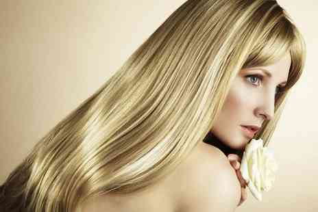 Beauty & Cut - Wash cut blow dry treatment with a half head of highlights - Save 78%