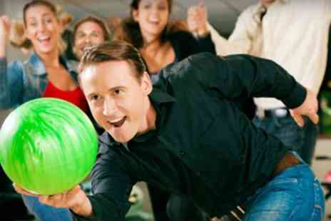 Genesis Family Entertainment Centre - Bowling Two Games With Pizza and Drinks - Save 59%