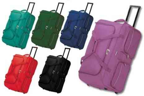 James Russell - Versatile Trolley Travel Bag in Choice of Colour - Save 63%