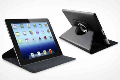 ASK Direct - Rotating Case For iPad With Stylus and Screen Protector - Save 64%