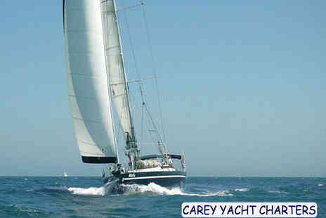 Carey Yacht Charters - Three Hour Boat Cruise for One People - Save 51%