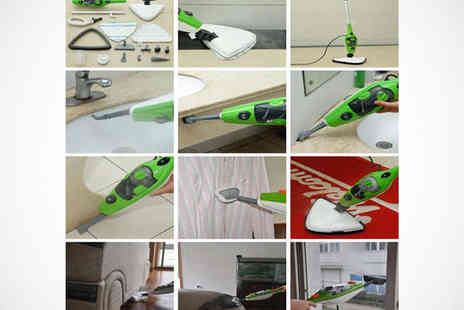 Supa Value - 10 in 1 Multi Function Steam Mop - Save 67%