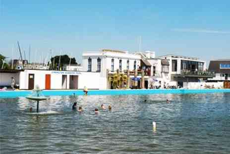 Lymington Sea Water Baths - Entry For Family of Four With Ice Cream - Save 50%