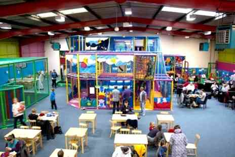 Giddy Kids Play Centre - Soft Play For Two Children - Save 57%
