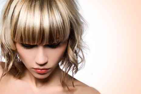 Cileste Hair & Beauty - Half Head of Highlights or Full Head Colour With Cut and Blow Dry - Save 63%