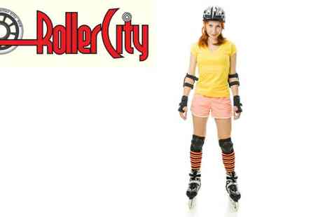 RollerCity - Roller Skating for Two - Save 50%