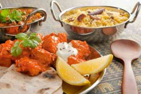 ASHOKA SHAK - Indian Platter, Mains, Rice and Naan For Two - Save 52%