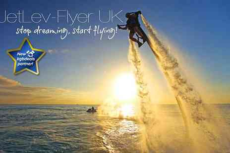 JetLev Flyer UK - Jetpack experience - Save 60%