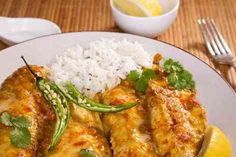 Mouchuck - Two Course Indian Meal With Mango Lassi For Two - Save 52%