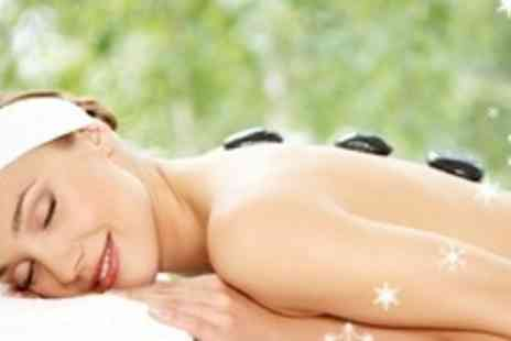 Hair 2K - Hot Stone Massage Mini Facial and Indian Head Massage For Two - Save 69%